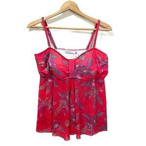 Croft & Barrow Swimwear Top Tankini Size 16 -NICE!